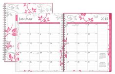 2015 Alexandra Clear Cover Weekly/Monthly Planner 8.5 x 11