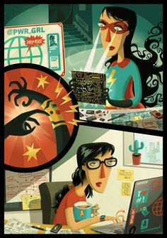 The Illustration Portfolio of Steve Simpson