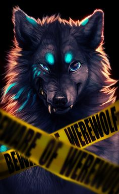 Beware of Werewolf by TamberElla.deviantart.com on @deviantART