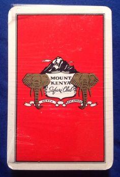 Mount Kenya Safari Club (Red) Swap Card