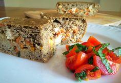 Tarte de lentilhas com recheio de peru - Nutrição com Coração