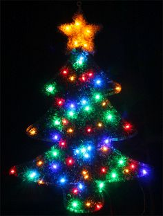 THIS CHRISTMAS TREE LIGHTS UP A LITTLE DIFFERENT.