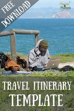 1000 ideas about travel itinerary template on pinterest