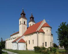 Slovakia, Diakovce - Basilica