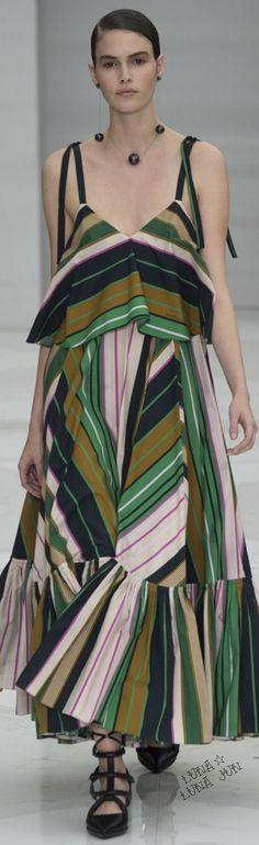 Salvatore Ferragamo Spring 2016 women fashion outfit clothing style apparel @roressclothes closet ideas