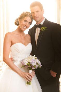 elegant black-tie wedding in Florida with photos by JSP Studios | via junebugweddings.com