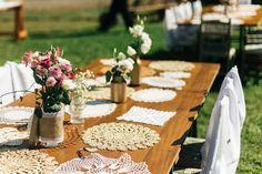 Inspire-se neste lindo casamento ao ar livre, realizado em Garibaldi, com muitos detalhes em DIY