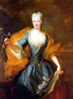 Louis de Silvestre - Fürstin Lubomirska, geb. von Vitzthum