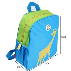 28eb8e975665 backpack school bag Picture - More Detailed Picture about Hot Fashion Children  School Bags Animal Prints Boy Girls Backpack Kid Bag Elephant Giraffe  Fabric ...