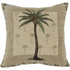 Palm Tree Decorative Pillow  Product in Inches (L x W x H):60.0 x 40.0 x 5.0