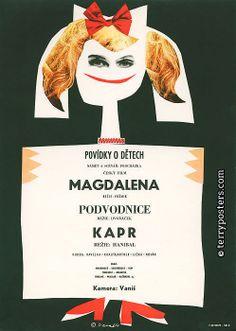 Authors: Vaca, Karel   Origin of film: Czechoslovakia   Year of poster origin: 1964   Director: Jiří Hanibal, Milan Vošmik, Jaromír Dvořáček