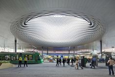 Basel, Switzerland Messe Basel - New Hall Herzog & de Meuron