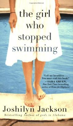 The Girl Who Stopped Swimming, by Joshilyn Jackson - a ghost appears to lead Laurel to a dead body in her pool. The story continues through sister squabbles, family strife, marriage drama, and a murder mystery. If enjoy Jodi Picoult, will enjoy this one.