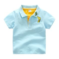 New Fashion Kids Boys Cotton Character Polo shirts Breathable and soft For 3-10 years old Children wear