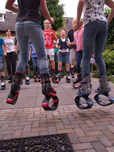 Kids having fun met Jump2Bfit kinderfeestje