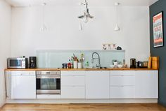 Bodie and Fou's kitchen in France. #kitchen