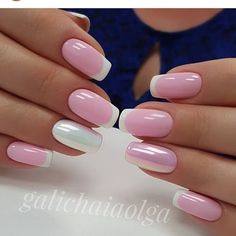 Pretty French Manicure Ideas - Trending NowFrench tip nails are classic styles that have stood the test of time. The core plan of the French manicure is painting the tip of the nail in an exceedingly color that either enhances or contrasts with t Manicure Nail Designs, French Manicure Nails, French Tip Nails, Manicure E Pedicure, Nail Art Designs, Nails Design, Design Design, Design Ideas, Short Nail Designs