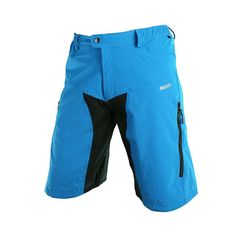 ClikWing Men's Outdoor Sports MTB Mountain Bike Shorts Cycling Clothing Shorts Downhill Blue XL * Be sure to check out this awesome product.