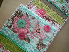 Dainty Blossoms on the table  FREE SHIPPING by SillyMamaQuilts, $38.00