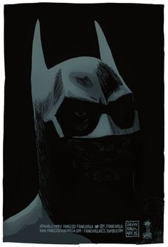 BATMAN 1989 Art by Francesco Francavilla
