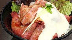 すた丼屋の新作ローストビーフ丼が激ウマガリマヨソースモモバラのダブル肉で超満足味レビュー