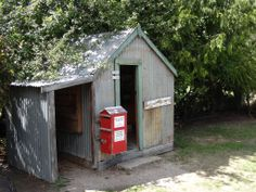 Chatto Creek Post Office I remember miss Kinney when my Dad did the bread run for Hewitt's bakery in the & I would get a raspberry lemonade at Ted Scott's Chatto Creek pub. Raspberry Lemonade, Post Office, New Zealand, 1950s, Ted, Trail, Bakery, Outdoor Structures, Places