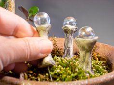 Fairy Garden Gazing Balls. $8.00, via Etsy.  Every Fairy Garden should have one <3