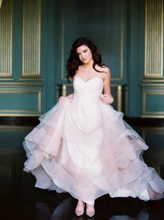 Romantic Gowns + Cascading Florals Equal Bridal Inspo Heaven – Style Me Pretty