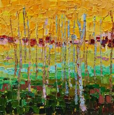 lana williams art | Interconnection by Lana Williams | oil painting | Art I Love
