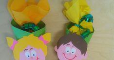 disegni, idee e lavoretti per la scuola dell'infanzia... e non solo Mamma, Alphabet, Spring, Paintings, Bricolage