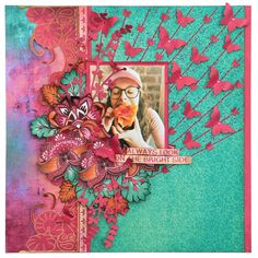 Layout I created for the July 2017 Merly Impressions Retreat, using Bombay Sunset Kaisercraft collection. Scrapbook Pages, Scrapbooking Ideas, Scrapbook Layouts, Sunset, Antiques, Cards, Handmade, Painting, Inspiration