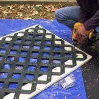 Size the lattice panels