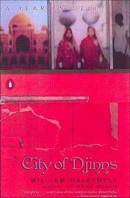 City of Djinns is a travelogue/history about the author's year spent in Delhi, but I didn't love the book because it felt a bit dated.