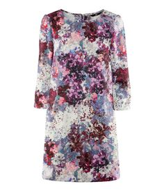 Dress (Purple/Floral). H & M. $29.95