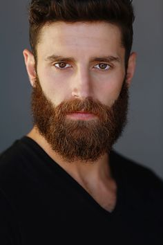 Jacob looking intense and handsome in his new headshots!