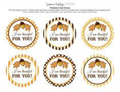 free printable thanksgiving tags - Google Search