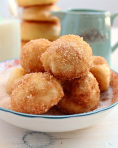 Skinny Bakery Style Donut Holes: only 22 kcals per glazed hole!! | honey & figs