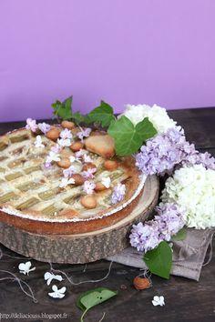 Déliacious : La tarte à la rhubarbe de Maman ... [Vegan]