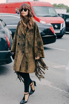 Street looks à la Fashion Week printemps-été 2016 de Londres