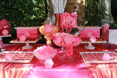 chicago sweet tables | Chicago Botanic Garden Sweet Table