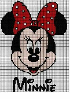 pixel art mickey et minnie Cross Stitching, Cross Stitch Embroidery, Embroidery Patterns, Quilt Patterns, Disney Stitch, Disney Cross Stitch Patterns, Cross Stitch Designs, Cross Stitch Baby, Cross Stitch Charts