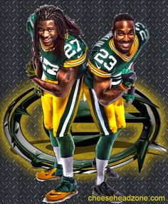Eddie Lacy and Johnathan Franklin lead the Green Bay Packers running attack. Teamed up with Aaron Rodgers and a solid receiving group this may be the best Packer offense of all time.