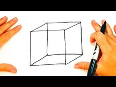 How to draw a Cube step by step Mom Quotes From Daughter, Drawing Lessons, Drawings, Easy, Youtube, Step By Step Drawing, Cubes, How To Draw, Drawing