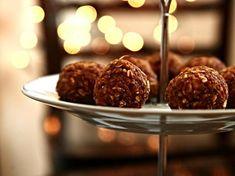 Mrkvovo-ořechové kuličky