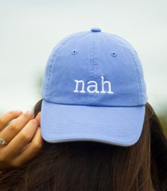 I've often found that the second task tends to bethe harder one, because it can be hard to know exactly what you want, let alone tell other people. Sound like you? If so, you might want to look into some fashion-related gifts. Specifically, baseball caps. Mom and dad-style baseball caps have been on trend for a while nowandthey don't appear to be going away anytime soon.