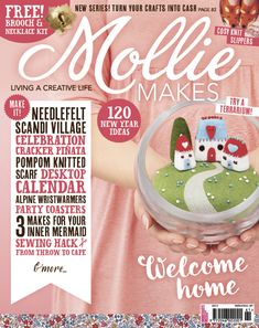 Mollie Makes issue 61 | Mollie Makes templates