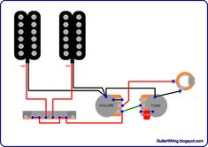 "The Guitar Wiring Blog - diagrams and tips: Simple and Popular ""Volume + Tone"" Guitar Wiring"