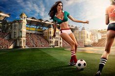 Infartante calendario del Mundial Brasil 2014