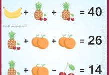 The Banana Orange Pineapple Cherry Puzzle. The Fruits Puzzle: Genius Puzzle Series The Viral Fruit Brainteaser Math Puzzle with Correct Answer. Logic Math, Logic Puzzles, Riddle Games, Mind Puzzles, Fruit Icons, Fun Brain, Challenging Puzzles, Math Questions, New Puzzle