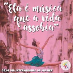 Mulher é música, poesia e movimento. O Terraço da Dança deseja um feliz dia da mulher a todas as mulheres!  #TerradoDaDanca #Dance #DancaDeSalao